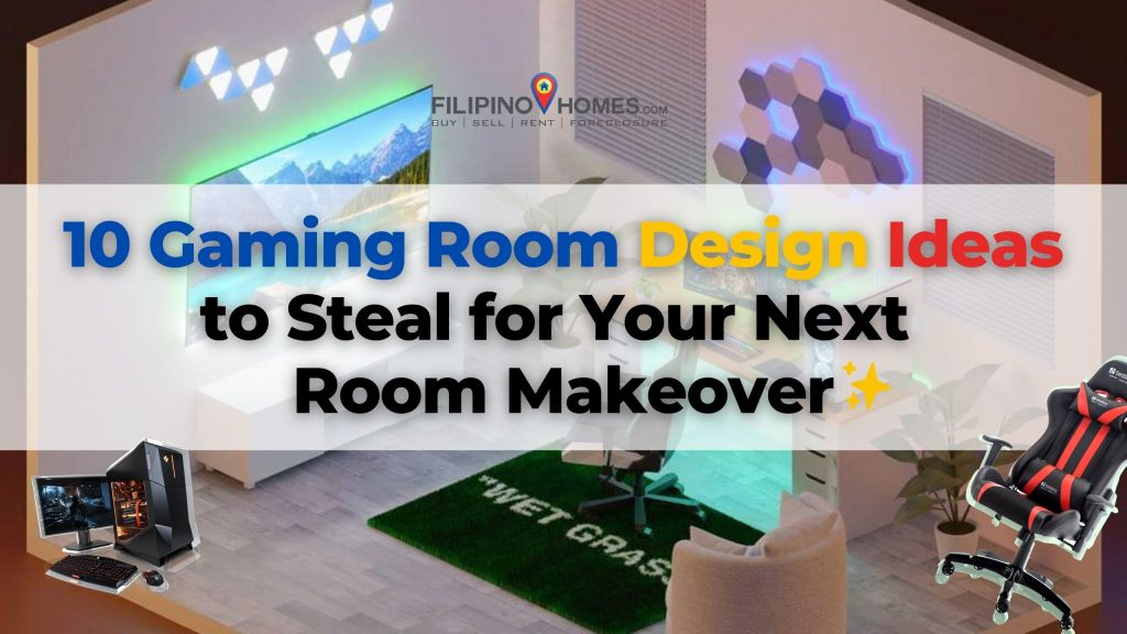 Gaming Room Ideas to Steal for Your next Room Makeover