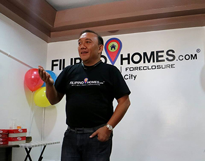 Founder of Filipino Homes