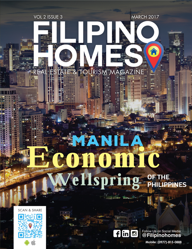 Filipino Homes Real Estate & Tourism Magazine Vol 2 ISSUE 3