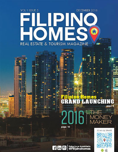 Filipino Homes Real Estate & Tourism Magazine Vol 1 ISSUE 5