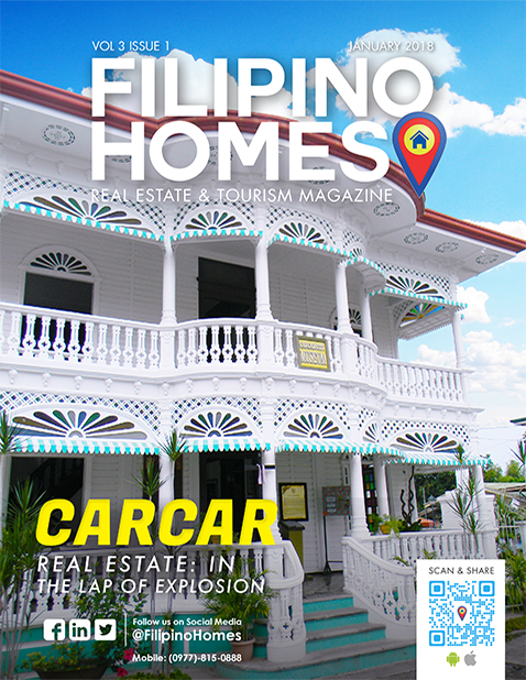 Filipino Homes Real Estate & Tourism Magazine Vol 3 ISSUE 1