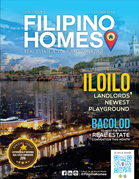 Filipino Homes Real Estate & Tourism Magazine Vol 1 ISSUE 3