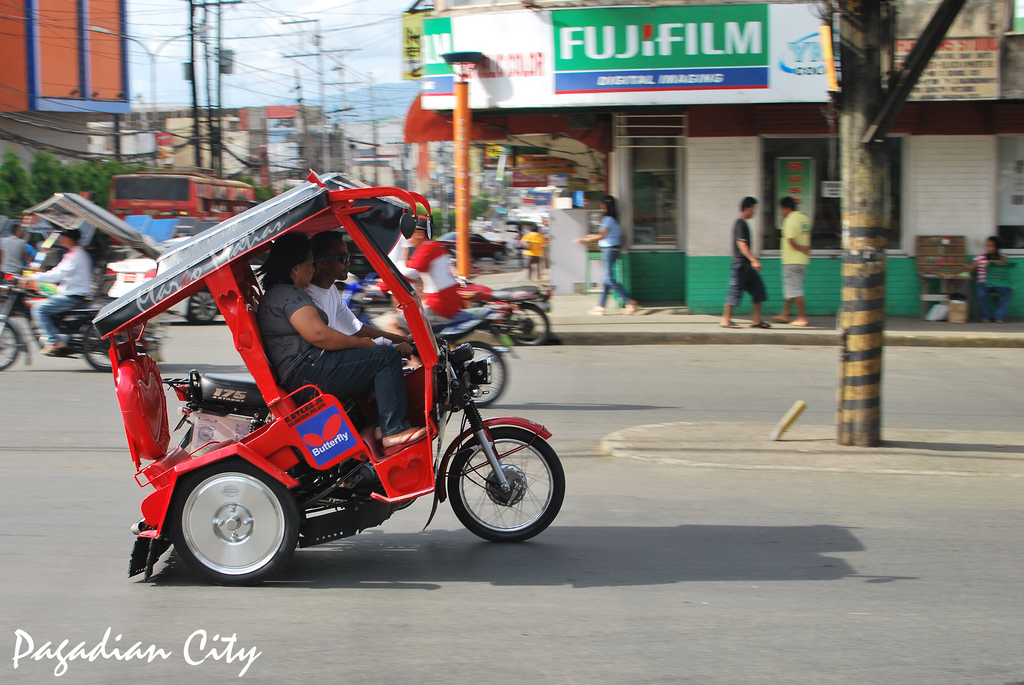 Iconic Pagadian Tricycle